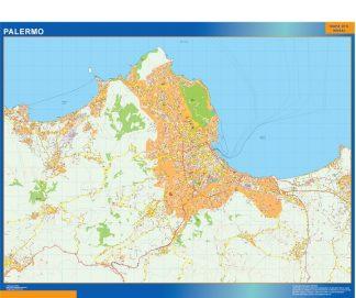 Mapa Palermo gigante
