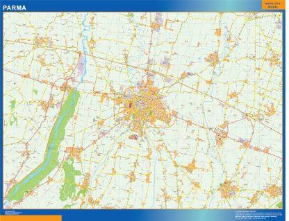 Mapa Parma gigante