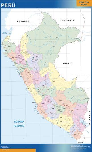 Mapa Peru gigante