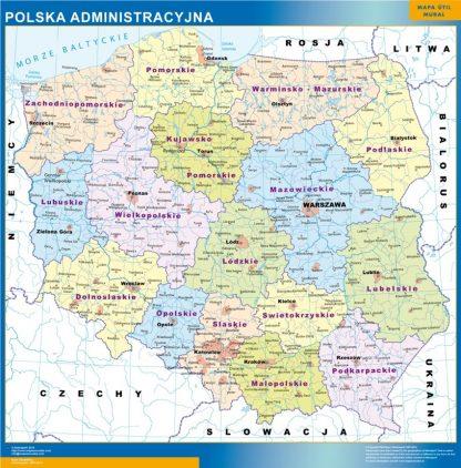 Mapa Polonia gigante
