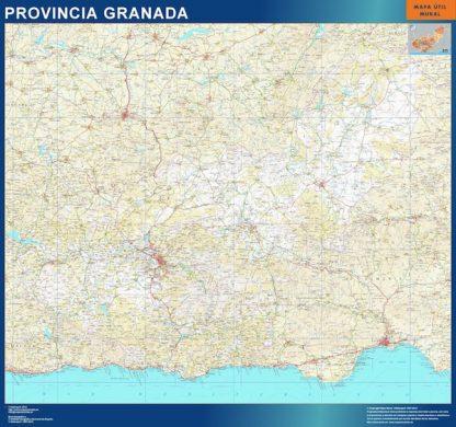 Mapa Provincia Granada gigante