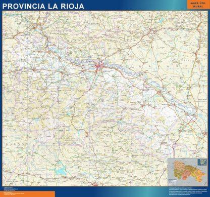 Mapa Provincia La Rioja gigante