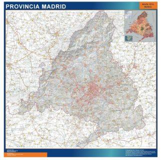 Mapa Provincia Madrid gigante
