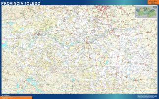 Mapa Provincia Toledo gigante