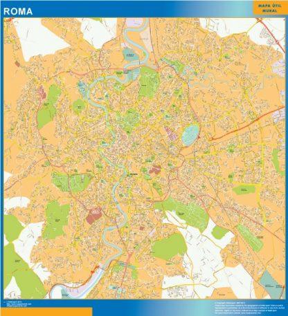 Mapa Roma gigante