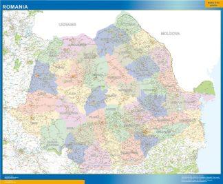 Mapa Rumania gigante