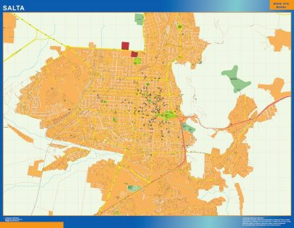 Mapa Salta en Argentina gigante