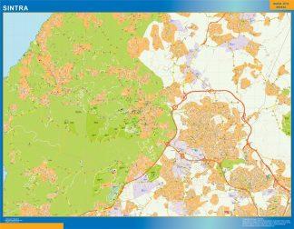 Mapa Sintra en Portugal gigante