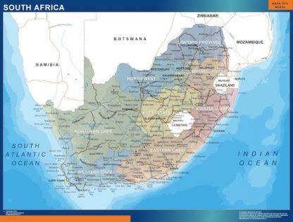 Mapa Sudafrica gigante