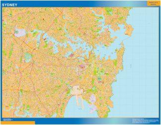 Mapa Sydney Australia gigante