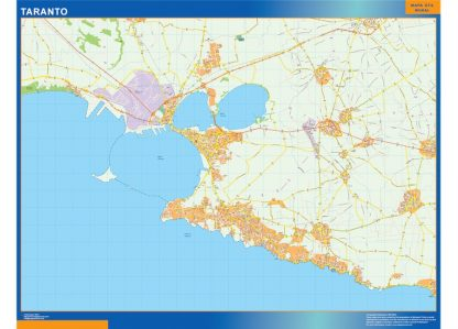 Mapa Taranto gigante