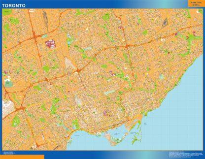 Mapa Toronto en Canada gigante