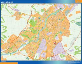 Mapa Valladolid callejero gigante
