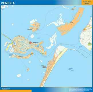 Mapa Venezia gigante