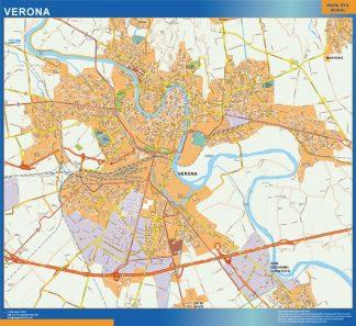 Mapa Verona gigante