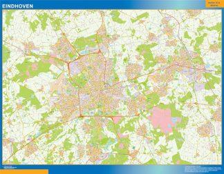 Mapa de Eindhoven gigante