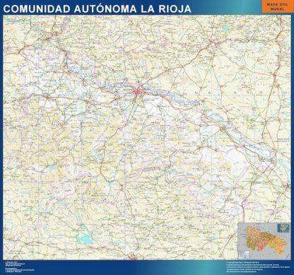 Mapa de La Rioja gigante