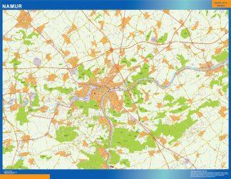 Mapa de Namur en Bélgica gigante