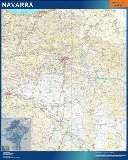 Mapa de Navarra gigante