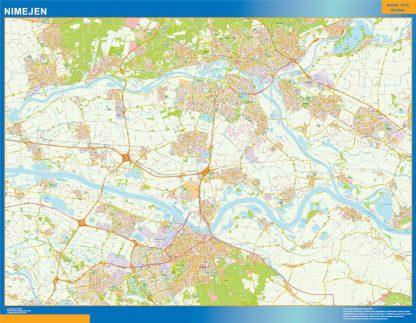 Mapa de Nimejen gigante