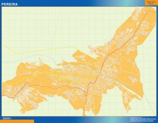 Mapa de Pereira en Colombia gigante
