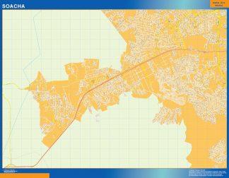 Mapa de Soacha en Colombia gigante