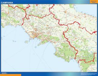 Mapa región Campania gigante