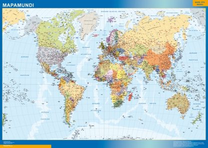 Mapamundi Actualizado gigante