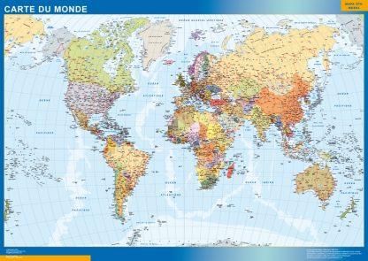 Mapamundi Frances gigante