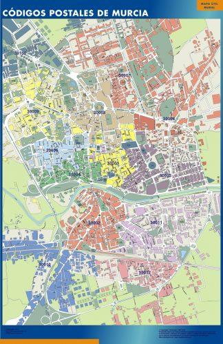 Murcia códigos postales gigante