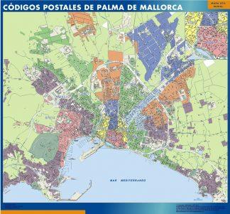 Palma de Mallorca códigos postales gigante