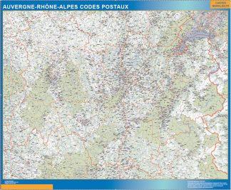 Región Auvergne-Rhone-Alpes codigos postales gigante