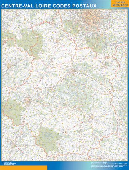 Región Centre Val Loire codigos postales gigante