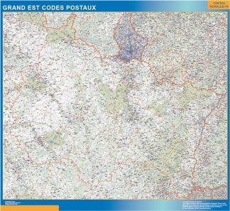 Región Grand Est codigos postales gigante