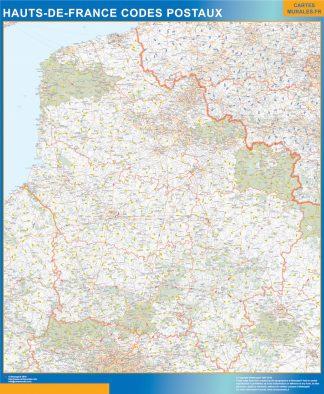 Región Hauts de France codigos postales gigante