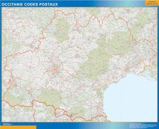 Región OccitanIe codigos postales gigante