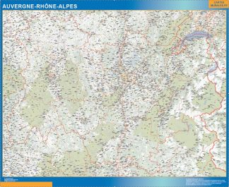 Region Auvergne-Rhone-Alpes gigante