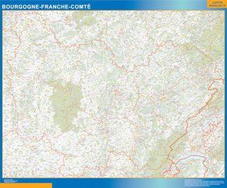 Region Bourgogne Franche Comte gigante