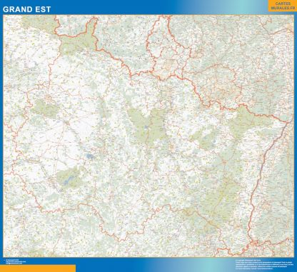 Region Grand Est gigante
