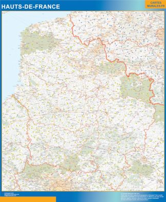 Region Hauts de France gigante