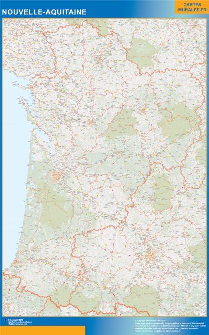 Region Nouvelle Aquitaine gigante