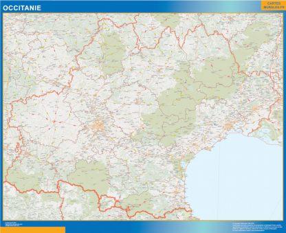 Region OccitanIe gigante
