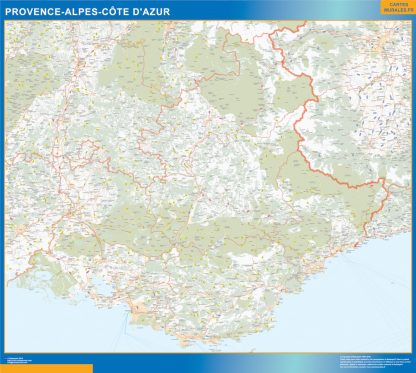 Region Provence-alpes cote azur gigante