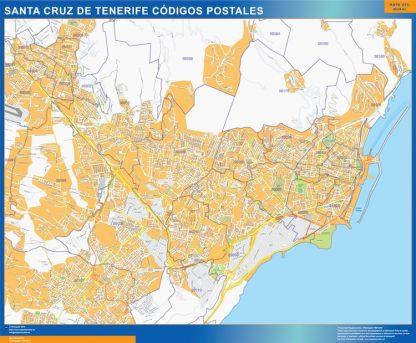 Santa Cruz de Tenerife códigos postales gigante