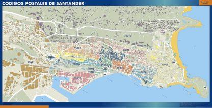 Santander códigos postales gigante