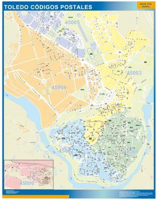 Toledo códigos postales gigante