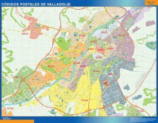 Valladolid códigos postales gigante